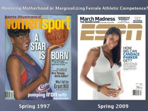Swoopes and Parker_pregnant
