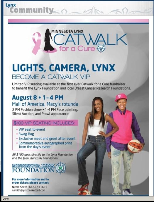 Lynx 2009 Cat Walk